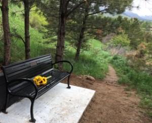 Mia's bench